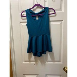 Julie's Closet Turquoise Blouse